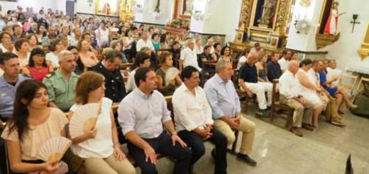 Autoridades misa Virgen del Carmen Ibiza 2017