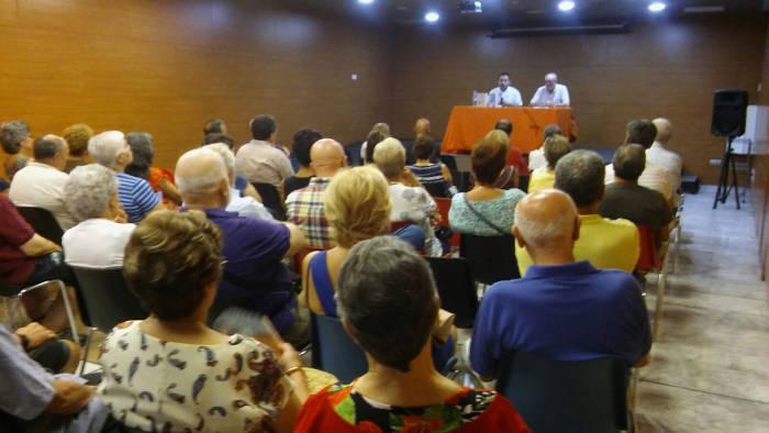 Conferencia en Aldaia sobre laicismo y Blasco Ibanez 2017 a