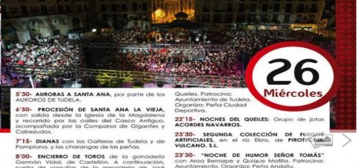Fiestas Tudela 2017