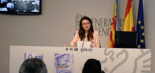 Monica Oltra vicepresidenta Valencia 2017