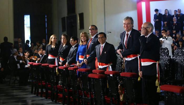 Te Deum Peru 2017 Gobierno
