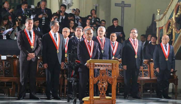 Te Deum Peru 2017 Poder Judicial
