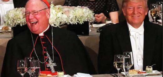 Trump y arzobispo