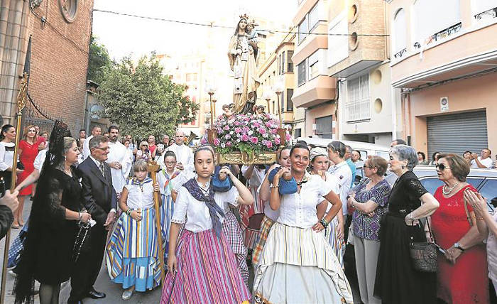 Virgen del Carmen Castellon 2017