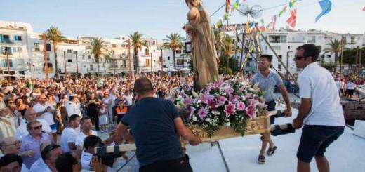 Virgen del Carmen Ibiza 2017