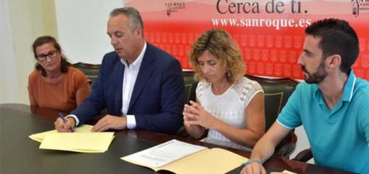 alcalde san roque ayudas actos virgen del carmen 2017
