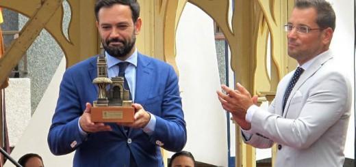 alcaldes bajada virgen del Carmen 2017