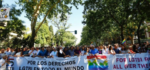 marcha orgullo gay 2017 Madrid