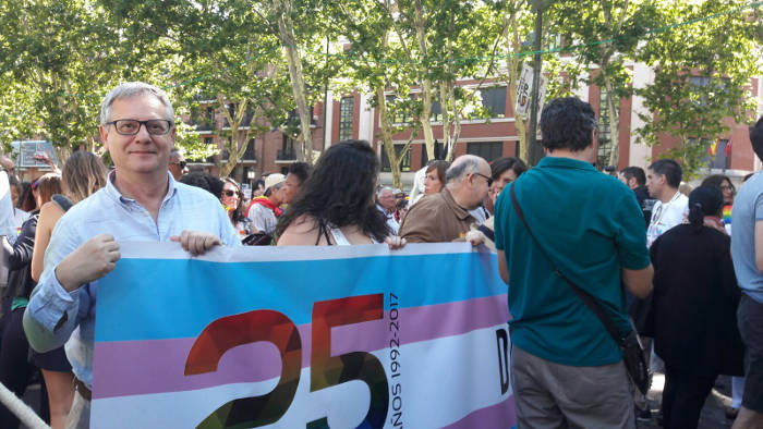 marcha orgullo gay 2017 Madrid Europa Laica