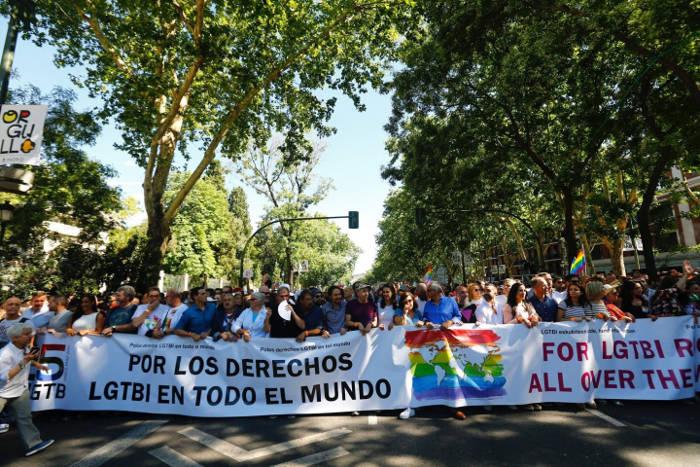 marcha orgullo gay 2017 Madrid