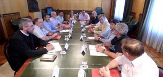 mesa dialogo religioso Ayuntamiento Zaragoza 2017