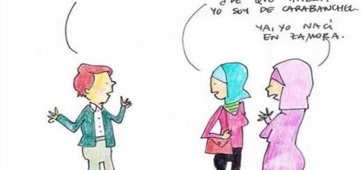 mujeres musulmanas de aqui