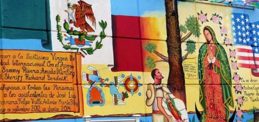 mural virgen Nueva Jersey 2017