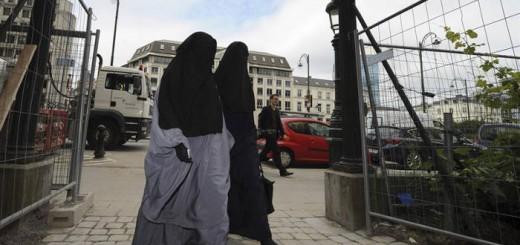 musulmanas con niqab Belgica 2017