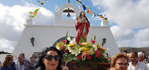 procesion Magdalena en Tias