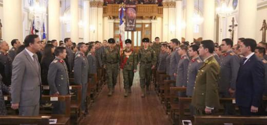 soldados Chile acto religioso 2017