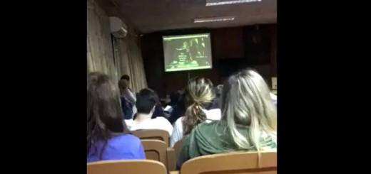 video contra aborto liceo Salto Uruguay 2017