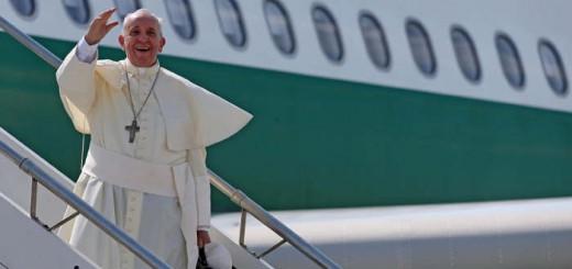 Bergoglio avion