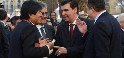 Evo Morales misa Virgen 2017 Urkupina