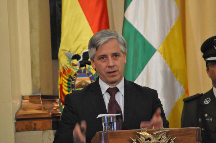 Garcia Linera vicepresidente Bolivia