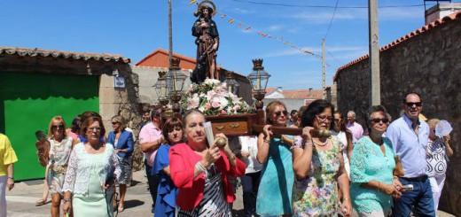 San Roque en Valdelosa Salamanca 2017