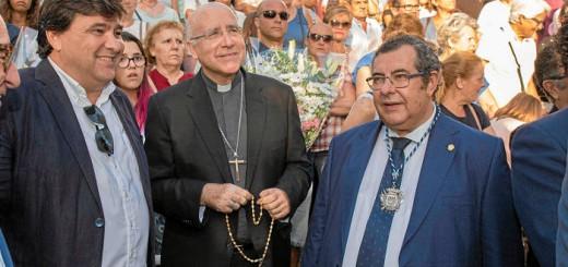 Virgen de cinta Huelva 2017 alcalde