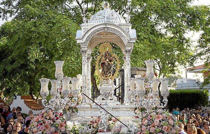 Virgen de cinta Huelva 2017
