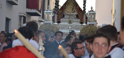 Virgen de la Caridad Sanlucar 2017 procesion