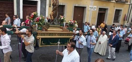 alcalde Cuenca procesion san Roque 2017