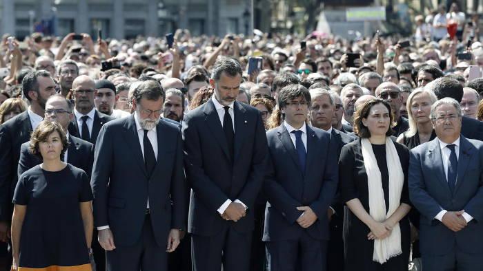 atentados Barcelona 2017