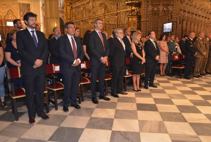 autoridades misa Toledo Virgen 2017 a