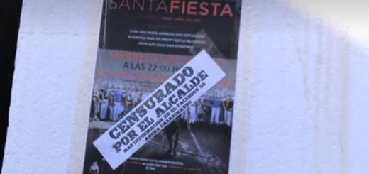 cartel acto censurado Cuenca 2017