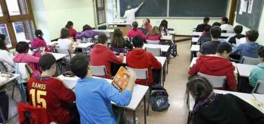 clase escuela Zaragoza