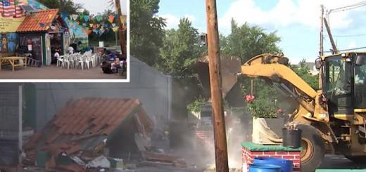desmantelan altar virgen de guadalupe en Nueva Jersey 2017