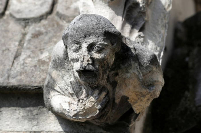 detalle deterioro catedral Notre Dame 2017