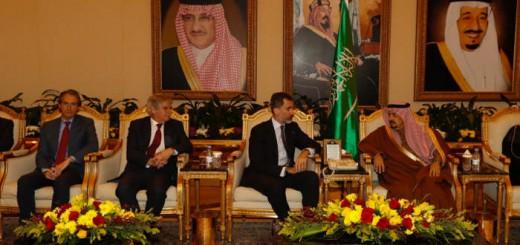 el rey en Arabia