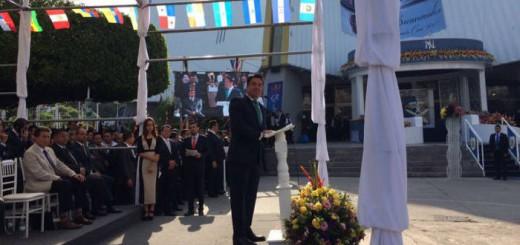 gobernador de Jalisco acto iglesia luz del mundo Mexico 2017