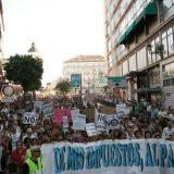 manifestacion 17 agosto visita papa