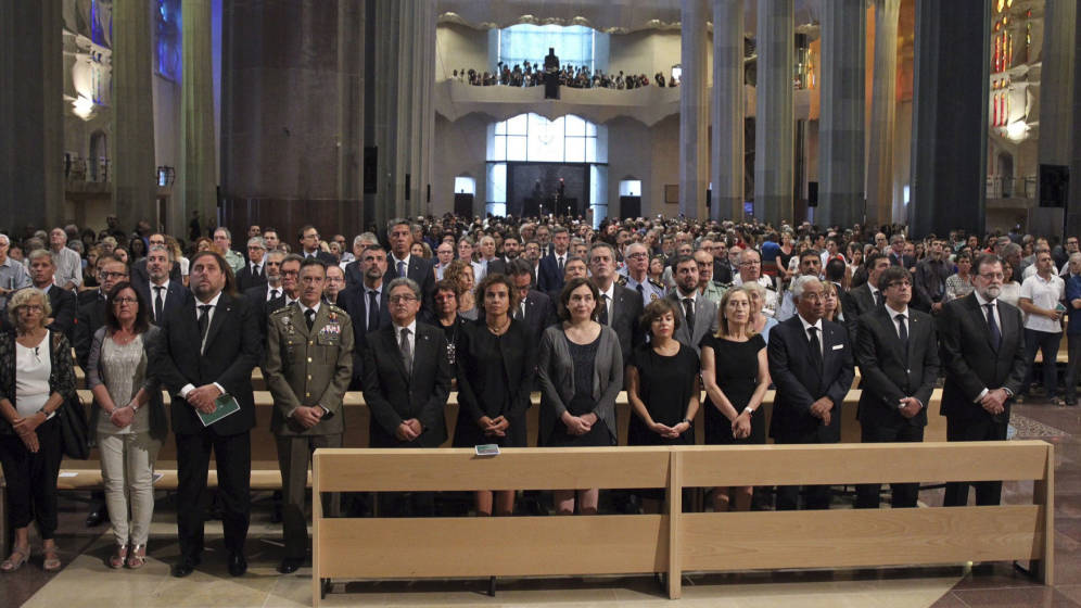 misa Sagrada Famila victimas atentado autoridades