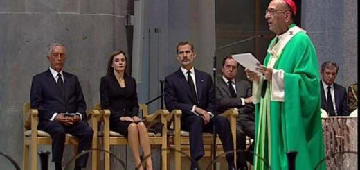 misa Sagrada Famila victimas atentado reyes 2017