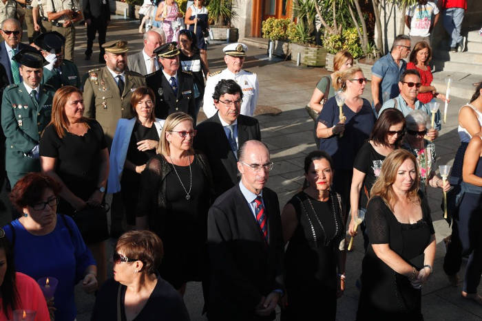 procesion Cristo Victoria Vigo 2017 autoridades