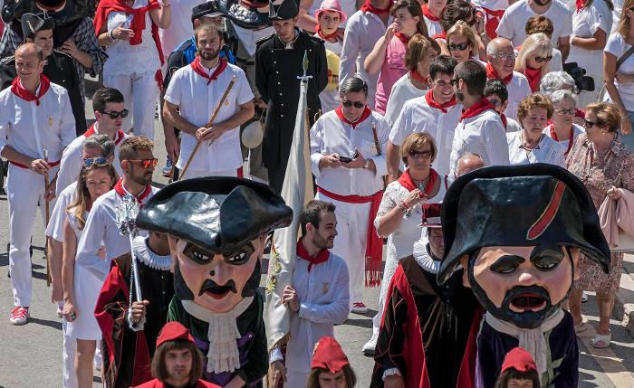 procesion San Andres Estella 2017 a