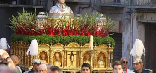procesion San Lorenzo Huesca 2017