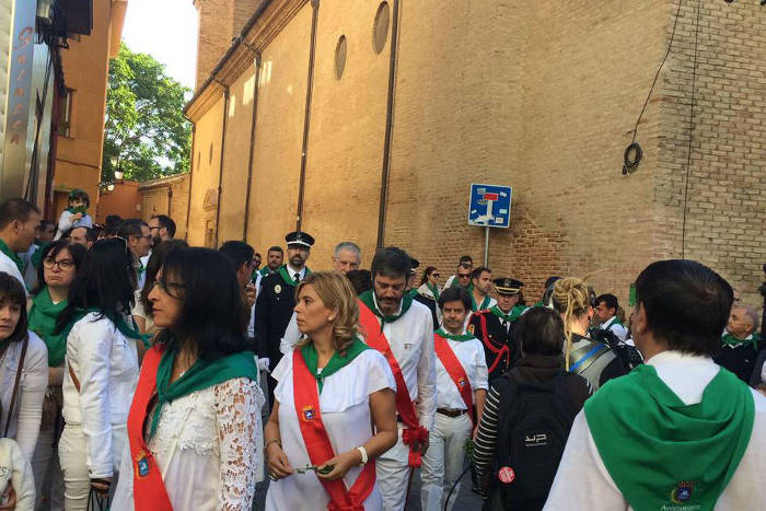 procesion San Lorenzo Huesca 2017 a