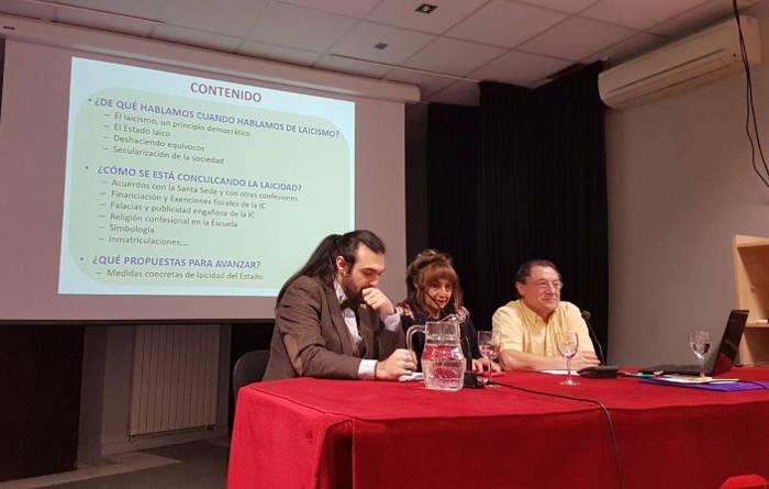 """Conferencia sobre """"Laicismo hoy en España"""", en el Ateneo de Madrid ..."""