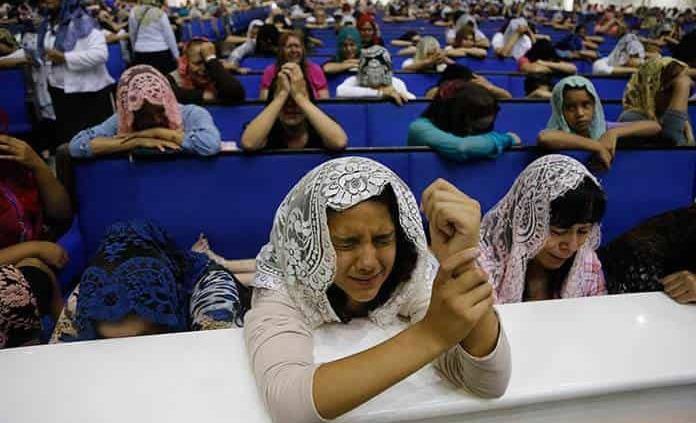 Lento cambio religioso