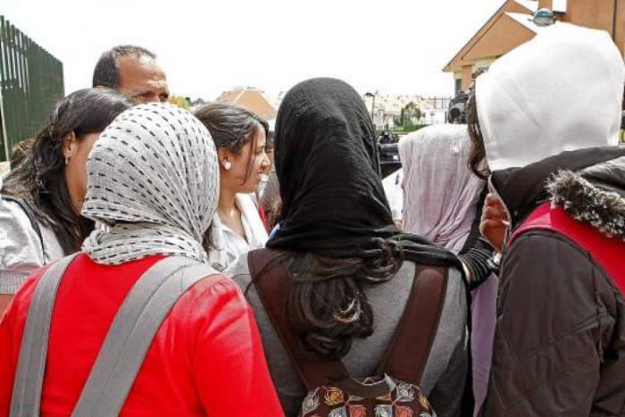 Velo islámico en Bélgica